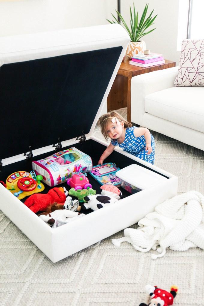 storage furniture storing toys