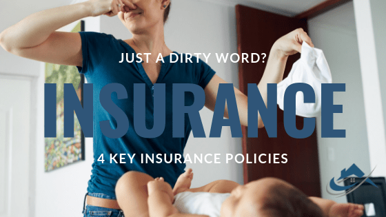 The Property Buyers Guide by Simply Altruism_Insurance – Just a Dirty Word? 4 key Insurance Policies. Home Insurance, Building Insurance, Landlord Insurance and Builders Insurance