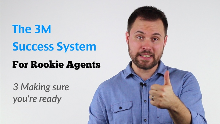 3M Success system for rookie estate agents - Making sure you're ready - Introduction