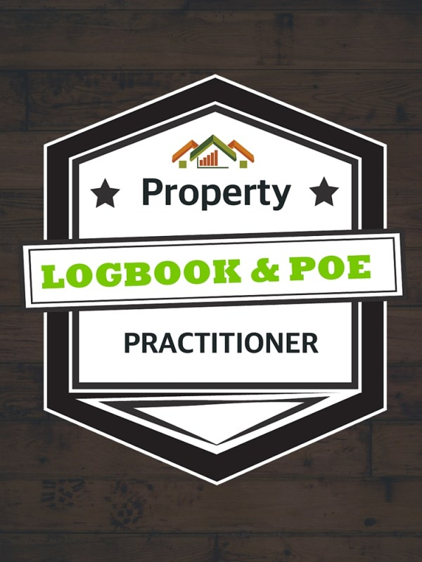 Logbook and portfolio of evidence training course badge