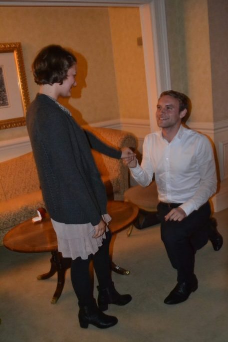 Marriage proposal in The Landmark Hotel planned by The Proposers