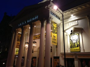 The stunning Lyceum Theatre