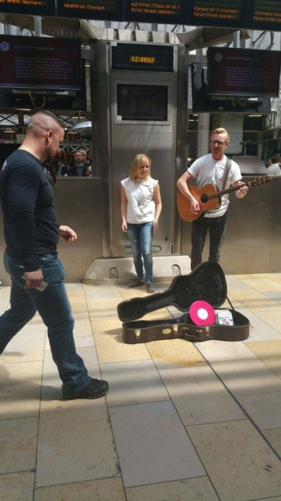 Just a couple of normal buskers... or are they?