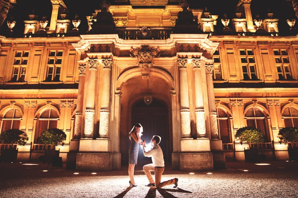 Waddesdon Manor marriage proposal planned by The Proposers
