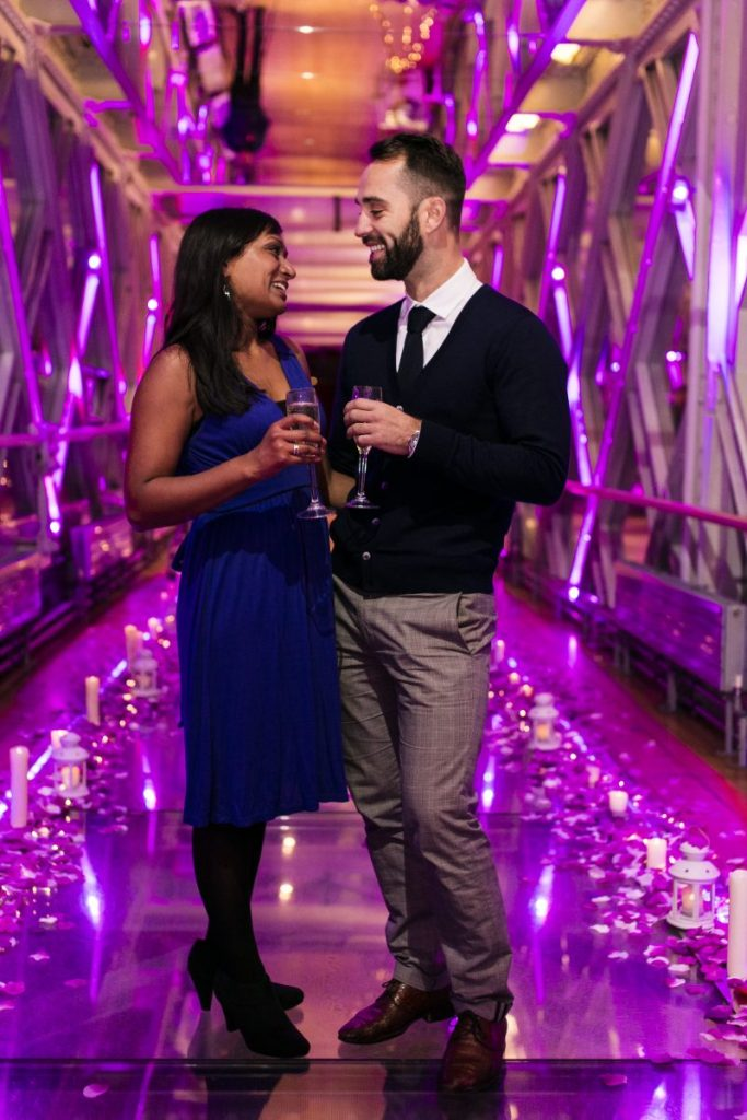 Marriage Proposal in Tower Bridge planned by The Proposers