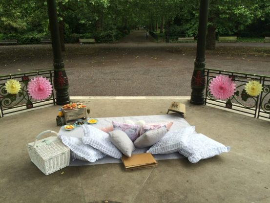 Picnic proposal in Battersea Park
