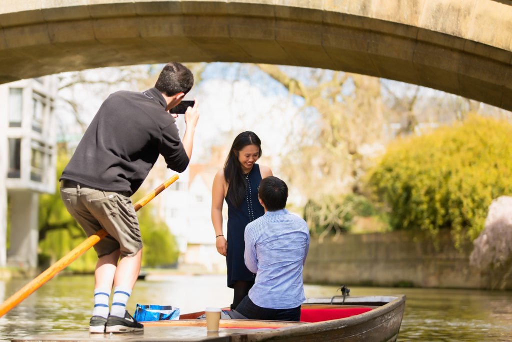 Proposing in Cambridge