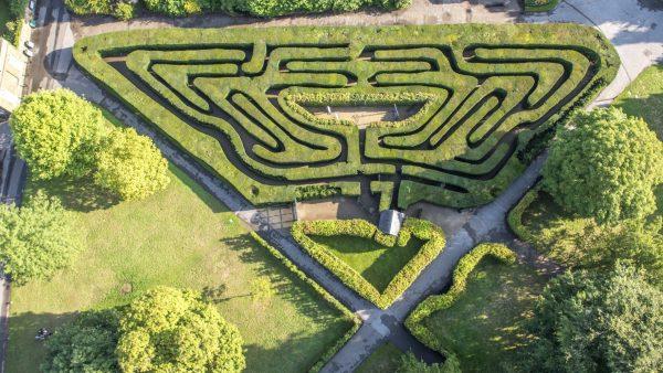 ©Hampton court maze
