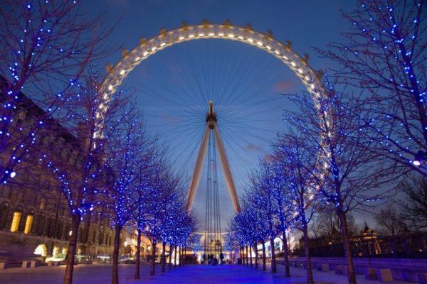 London Eye Twilight April 2006