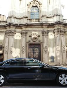 The Armani Hotel...a perfect proposal spot