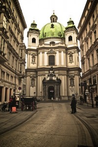 Take a horse-drawn carriage through the streets of Vienna