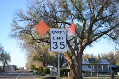 Bristol Speed Sign