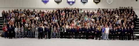 FFA Career Development Students