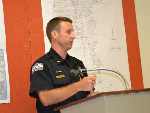 Lamar Police Chief Kyle Miller