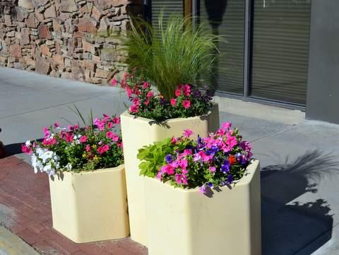 Main Street Flower Pots