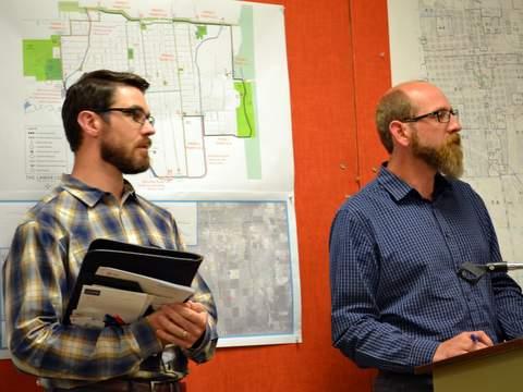 Andrew Sparn and Josh McGibbon of JVA Engineering
