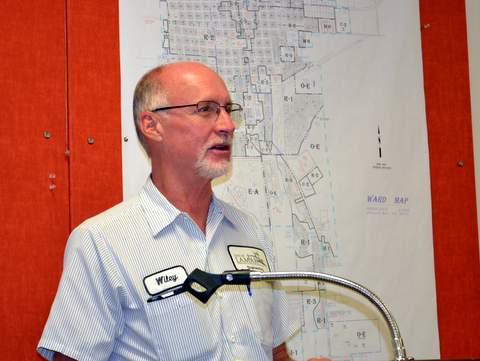 Lamar City Engineer Wiley Work