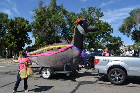 At the Recent Sand and Sage Parade