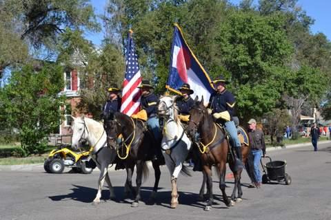 Mounted Guard at Parade