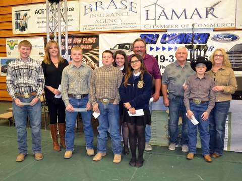 Beef Carcass Award Winners and Buyers