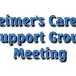 Alzheimer's Caregiver Support Group Meeting