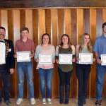 Lamar Elks Recognize Students of the Month