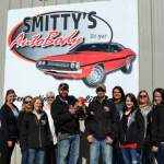 Honkers Visit Smitty's Body Shop Grand Opening