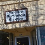 Ye Olde Rummage Shoppe, Still Going Strong for SDS