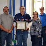 Cliff Boxley Recognized for Hours/Miles of Service to VA