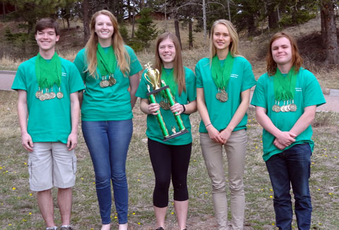 2017 CO Envirothon Winners