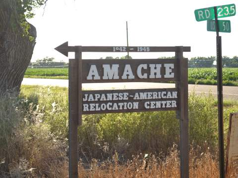 Senator Gardner Tours Camp Amache Offers Support with NPS Project