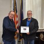 9/11 Tribute Committee Presents Certificate, Updates Progress on Memorial