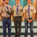 Eagle Scouts Can Come in Threes