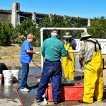 Volunteers Help CPW Biologists Survey John Martin Reservoir Fish Population