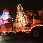 Rain Didn't Spoil the Holiday Spirit for Parade of Lights