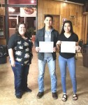 The Lamar Elks Honors the January Students of the Month