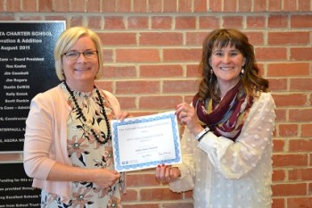 Alta Vista Receives Irwin Academic Award