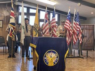Lamar Elks Celebrate Flag Day