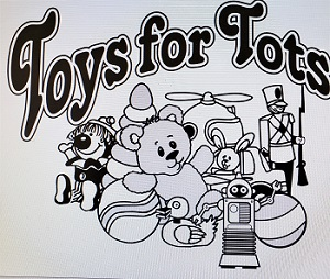 Toys for Tots Distribution Schedule for 12/24