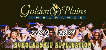 2021 Golden Plains Insurance Scholarship