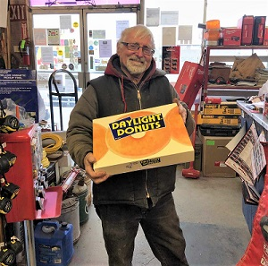 Rancher's Supply Gets Donuts, Hosts Beef BBQ