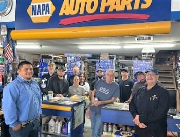 Lamar Chamber Donut Friday at Napa Auto Parts