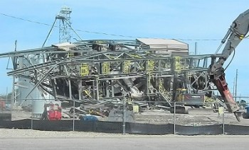 Lamar Repowering Project Ends with a Crash