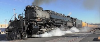 Big Boy Train Engine Visits Our Region