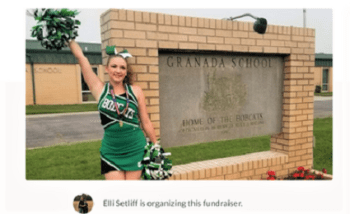 Granada School Cheerleader Invited to Perform with All-American Team in Walt Disney Thanksgiving Day Parade