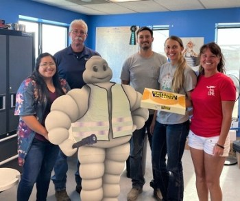 Ace Tire Gets the Donut Friday, Chamber Visit