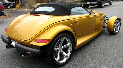 Chrysler Plymouth Prowler Photos  Pictures of Gold Prowler