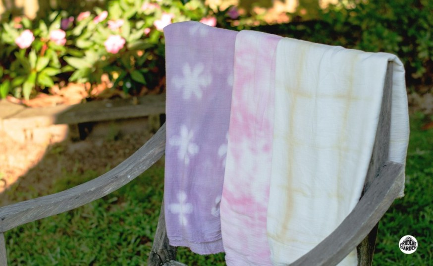 Shibori Tie-Dye with Natural Dyes