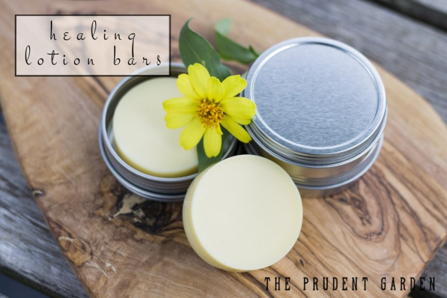 DIY Healing Lotion Bars
