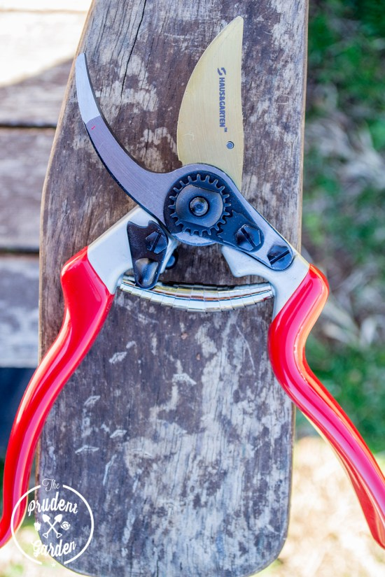 Junky tools make gardening miserable. Haus &Garten's Titanium Bypass pruners make garden chores a joy. See our latest review on this garden tool.